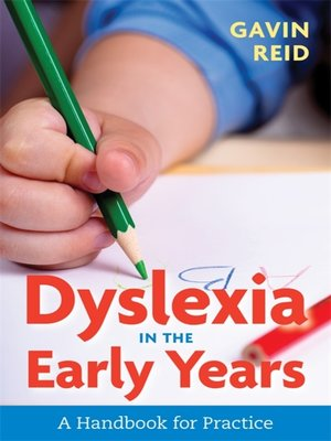 cover image of Dyslexia in the Early Years