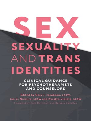cover image of Sex, Sexuality, and Trans Identities