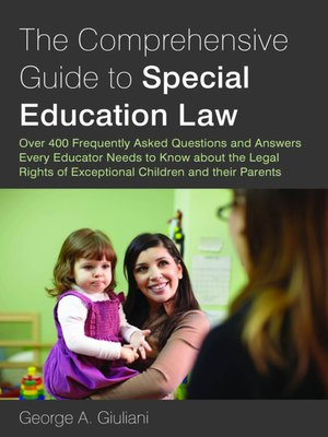 cover image of The Comprehensive Guide to Special Education Law