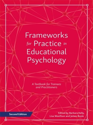 cover image of Frameworks for Practice in Educational Psychology