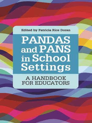 cover image of PANDAS and PANS in School Settings