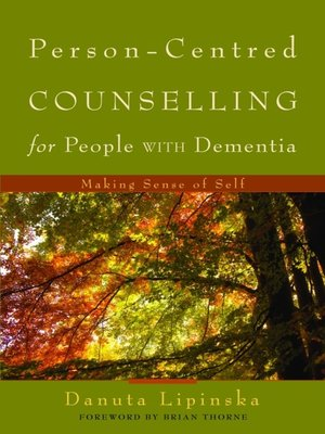 cover image of Person-Centred Counselling for People with Dementia