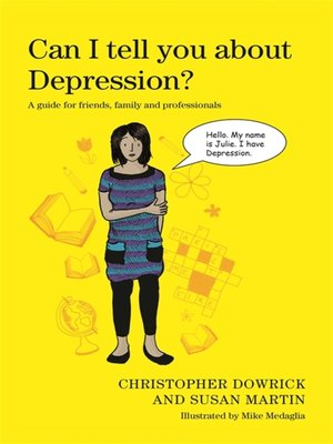 cover image of Can I tell you about Depression?
