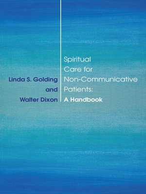 cover image of Spiritual Care for Non-Communicative Patients
