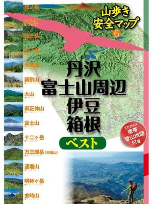 cover image of 丹沢・富士山周辺・伊豆・箱根ベスト