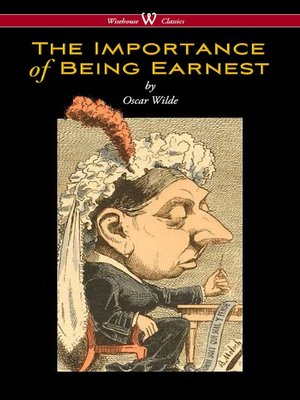 cover image of The Importance of Being Earnest