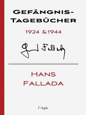 cover image of Gefängnis-Tagebücher 1924 & 1944