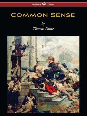cover image of Common Sense