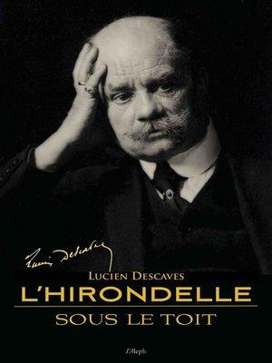 cover image of L'hirondelle sous le toit