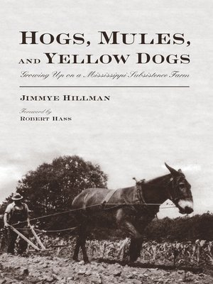 cover image of Hogs, Mules, and Yellow Dogs