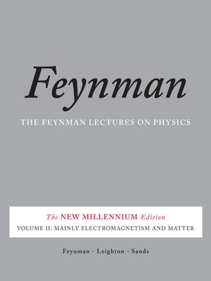 cover image of The Feynman Lectures on Physics, Volume II
