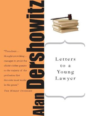 cover image of Letters to a Young Lawyer