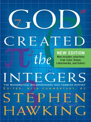 cover image of God Created the Integers