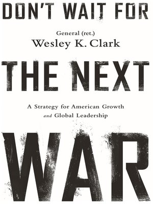 cover image of Don't Wait for the Next War