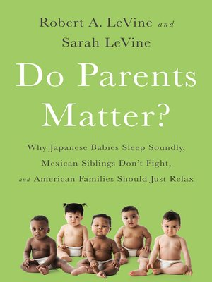 cover image of Do Parents Matter?