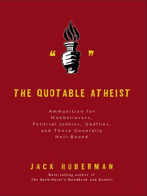 cover image of The Quotable Atheist