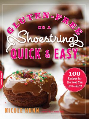 cover image of Gluten-Free on a Shoestring, Quick and Easy