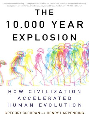 cover image of The 10,000 Year Explosion