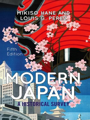 cover image of Modern Japan