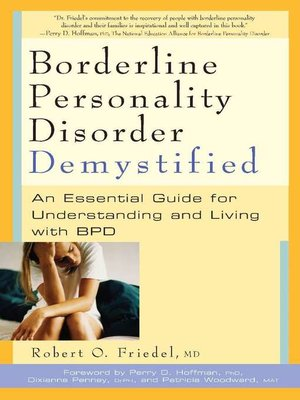 cover image of Borderline Personality Disorder Demystified