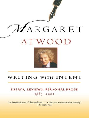 cover image of Writing with Intent