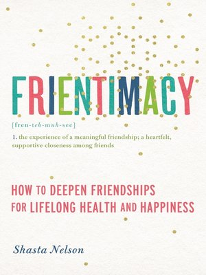 cover image of Frientimacy