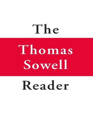 cover image of The Thomas Sowell Reader