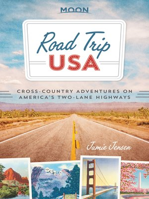 cover image of Cross-Country Adventures on America's Two-Lane Highways