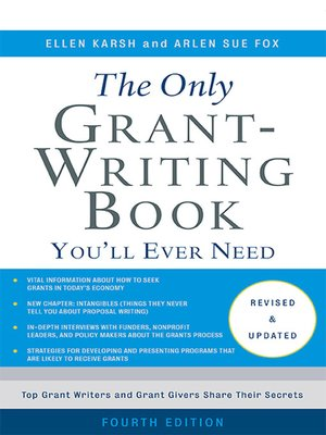 The only grant writing book youll ever need by ellen karsh the only grant writing book youll ever need fandeluxe Images