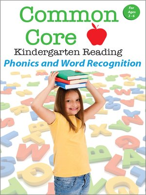 cover image of Common Core Kindergarten Reading: Phonics and Word Recognition