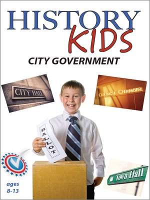 cover image of History Kids: City Government