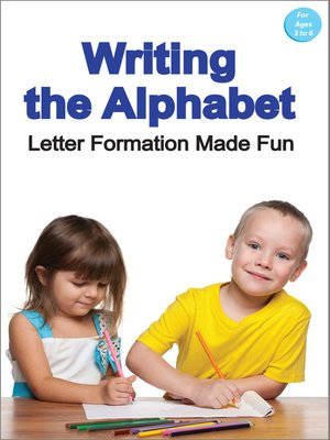 cover image of Writing the Alphabet from A to Z