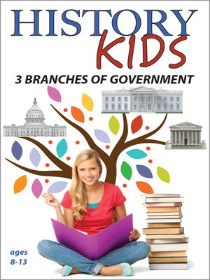 cover image of History Kids: 3 Branches of Government