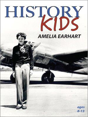 cover image of History Kids: Amelia Earhart