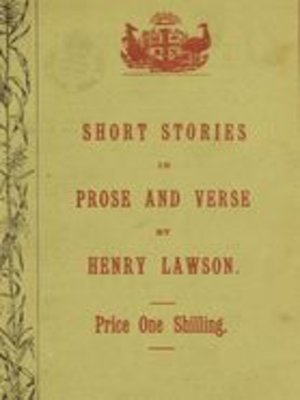 cover image of Short Stories in Prose and Verse