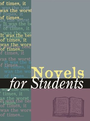 cover image of Novels for Students, Volume 52