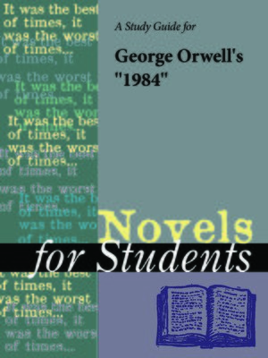 "cover image of A Study Guide for George Orwell's ""1984"""