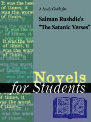 """cover image of A Study Guide for Salman Rushdie's """"The Satanic Verses"""""""