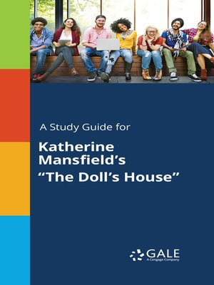 """cover image of A study guide for Katherine Mansfield's """"The Doll's House"""""""