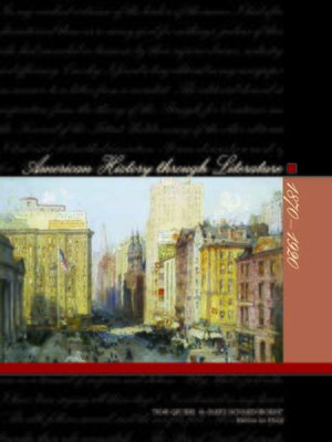 cover image of American History Through Literature: 1870-1920