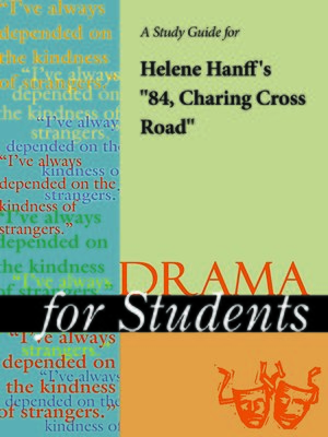 "cover image of A Study Guide for Helene Hanff's ""84 Charing Cross Road"""