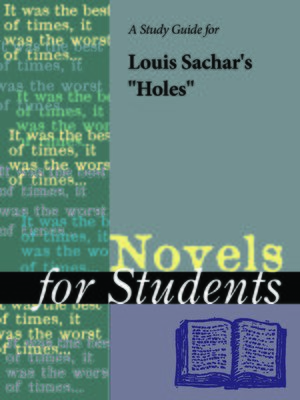 "cover image of A Study Guide for Louis Sachar's ""Holes"""