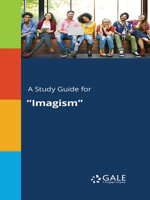 "cover image of A Study Guide for ""Imagism"""