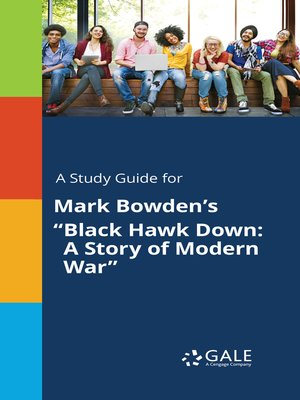 "cover image of A Study Guide for Mark Bowden's ""Black Hawk Down: A Story of Modern War"""
