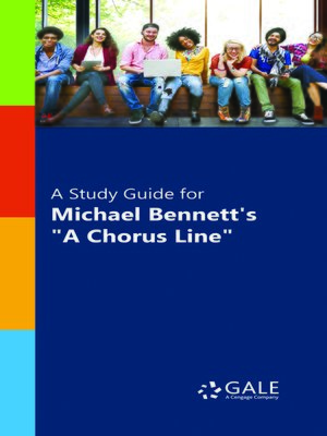 """cover image of A Study Guide for Michael Bennett's """"A Chorus Line"""""""
