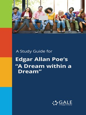 """cover image of A Study Guide for Edgar Allan Poe's """"A Dream within a Dream"""""""