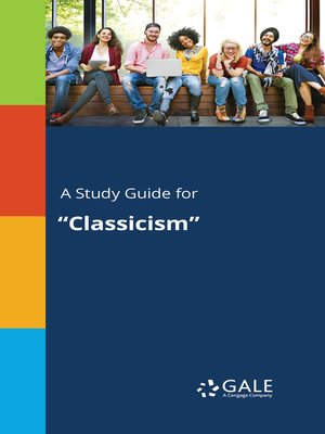 "cover image of A Study Guide for ""Classicism"""