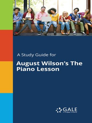 cover image of A Study Guide for August Wilson's The Piano Lesson