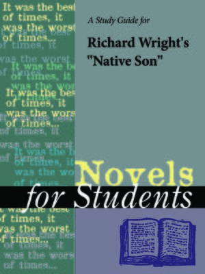 """cover image of A Study Guide for Richard Wright's """"Native Son"""""""