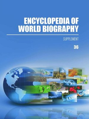 cover image of Encyclopedia of World Biography, 2016 Supplement
